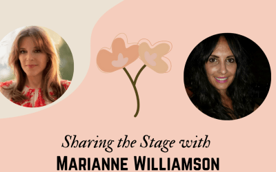 Sharing the Stage with Marianne Williamson